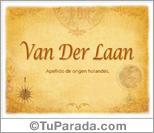 Origen y significado de Van Der Laan