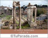 Foto del Foro Romano - Italia