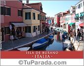 Foto de la Isla de Burano - Italia