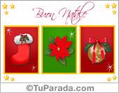 Tarjetas postales: Tarjeta de felices fiestas en italiano