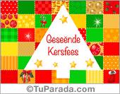 Tarjetas, postales: Tarjetas de Navidad en africano
