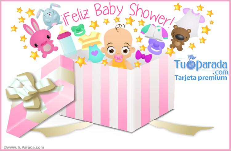 Tarjetas de Baby Shower, postales de Baby Shower, tarjetas de ...