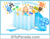 Tarjetas, postales: Nacimiento