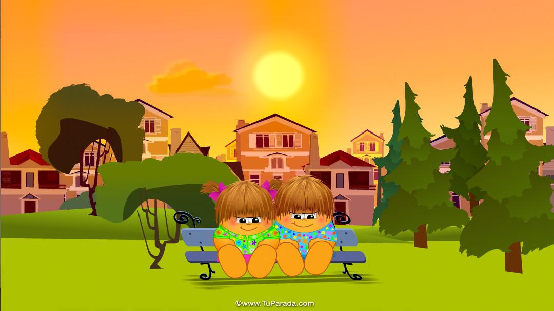 Imagen en paisaje soleado fondo imagen para portada de for Portadas de f c e