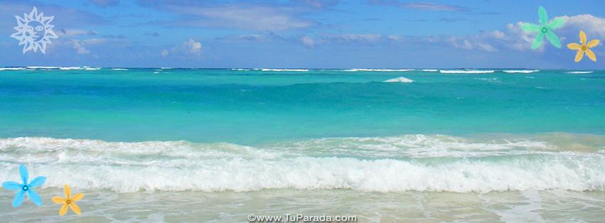 Foto de mar para la portada de Facebook, fondos, fotos