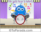 Me gusta tocar la batería