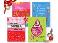 Cuatro excelentes Libros para chicas o para comprar entre amigas.