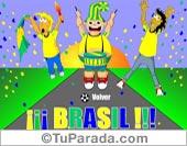 Tarjetas postales: Selección de Brasil