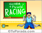 Tarjetas postales: Racing Club