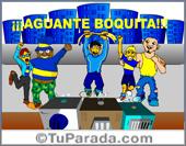 Tarjeta - Boca Juniors