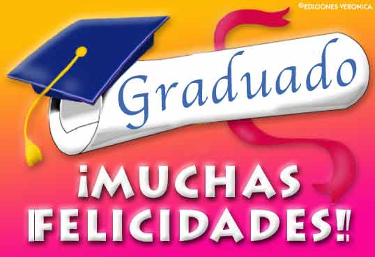 Tarjetas de graduación, postales de feliz graduación, para graduados