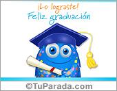 Tarjetas, postales: Tarjeta virtual de graduación