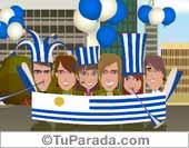 Tarjeta de Fiestas de Uruguay