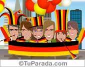 Fútbol, selecciones - Tarjetas postales: Alemania