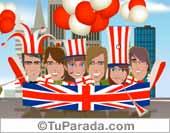 Fútbol, selecciones - Tarjetas postales: Inglaterra