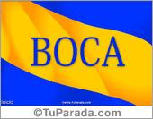 Tarjetas postales: Tarjeta de Boca