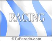Tarjetas postales: Tarjeta de Racing