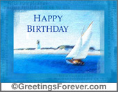 Tarjetas postales: Happy birthday e-greeting