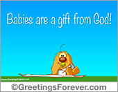 Ecards: A gift from God