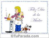 Tarjeta - Feliz día de la Madre.