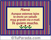 Tarjeta - Para mamá...
