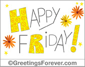 Greeting ecards: Happy Friday!
