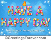 Have a great day ecard
