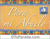 Tarjetas postales: Abuelos