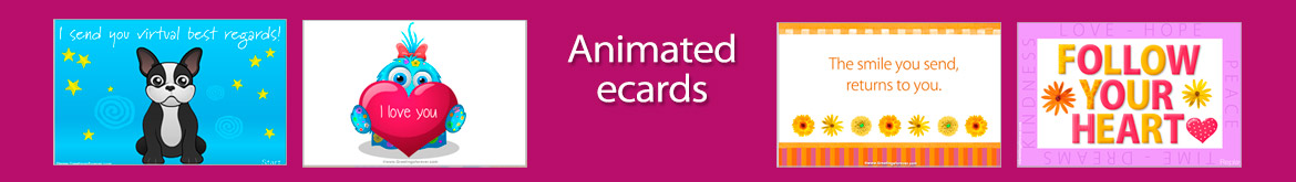 Ecards, greeting cards