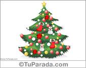 Para manualidades con pinos navideños
