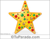 Estrella de Navidad para adornar