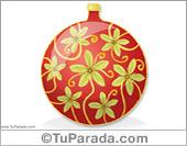 Adorno para el árbol de Navidad