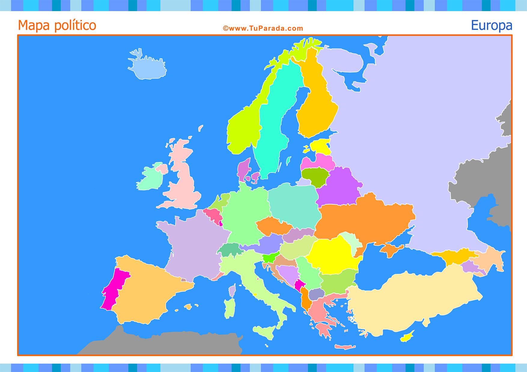 Mapa Europa Para Imprimir.25 Fresco Mapa De Europa Para Completar