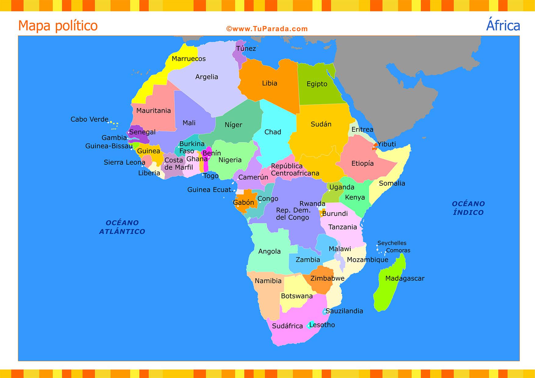 Nombres De Africa 106