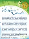 Aries con Cancer