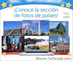 Postales de fotos de países