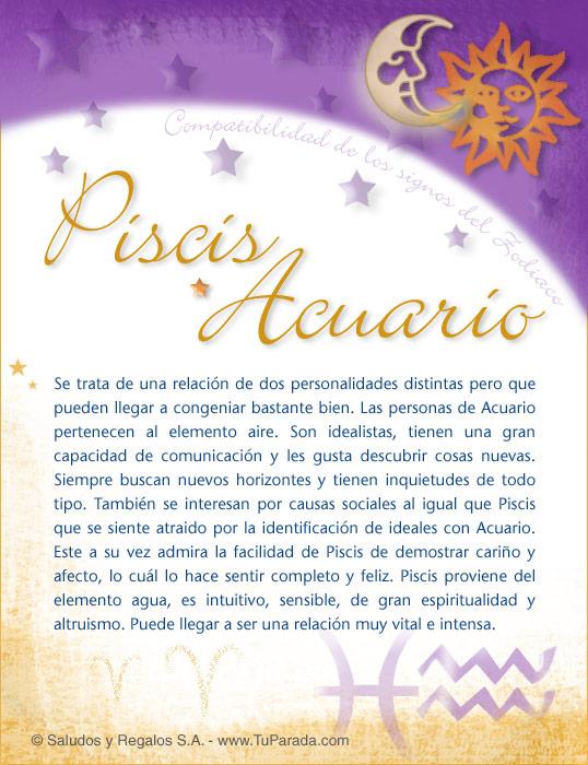 Piscis con Acuario, imagen de Piscis con Acuario