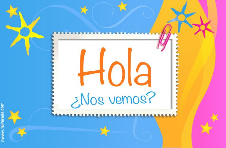 Tarjeta de saludos hola saludos y buen d a enviar tarjeta - Solicitar tarjeta club dia ...