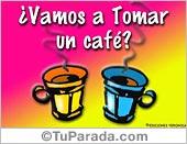 Tarjeta - ¿Tomamos un café?