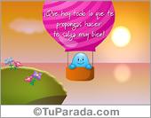 Frases para Facebook - Tarjetas postales: Que hoy todo lo que te propongas...