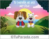 Tarjeta de Perros