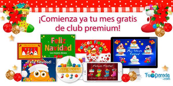 Comienza tu mes gratis de club premium