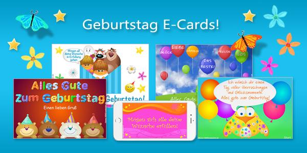 Geburtstag Animierte E-Cards