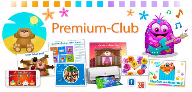 Geburtstag Animierte E Cards. Premium Club