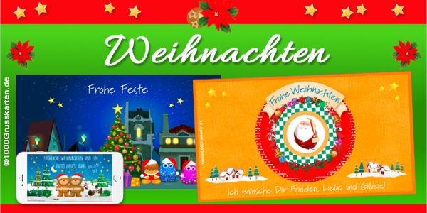 Weihnachten E-Cards