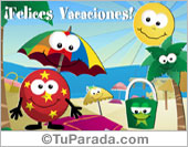 Tarjeta de Vacaciones