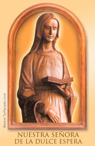 Tarjeta - Nuestra Señora de la Dulce Espera