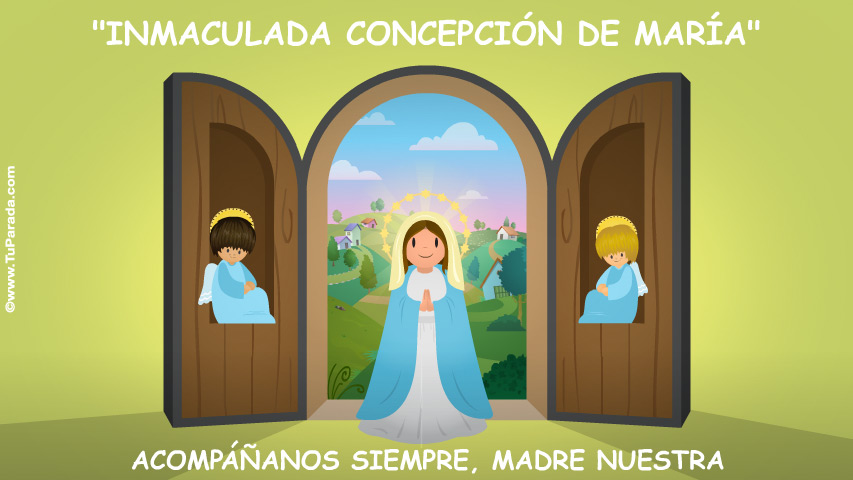 Tarjeta - Inmaculada Concepción de María