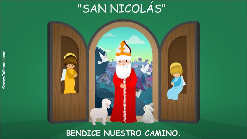 Tarjeta - San Nicolás