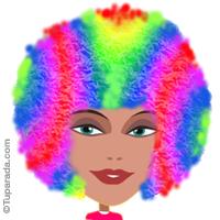 Imagen multicolor